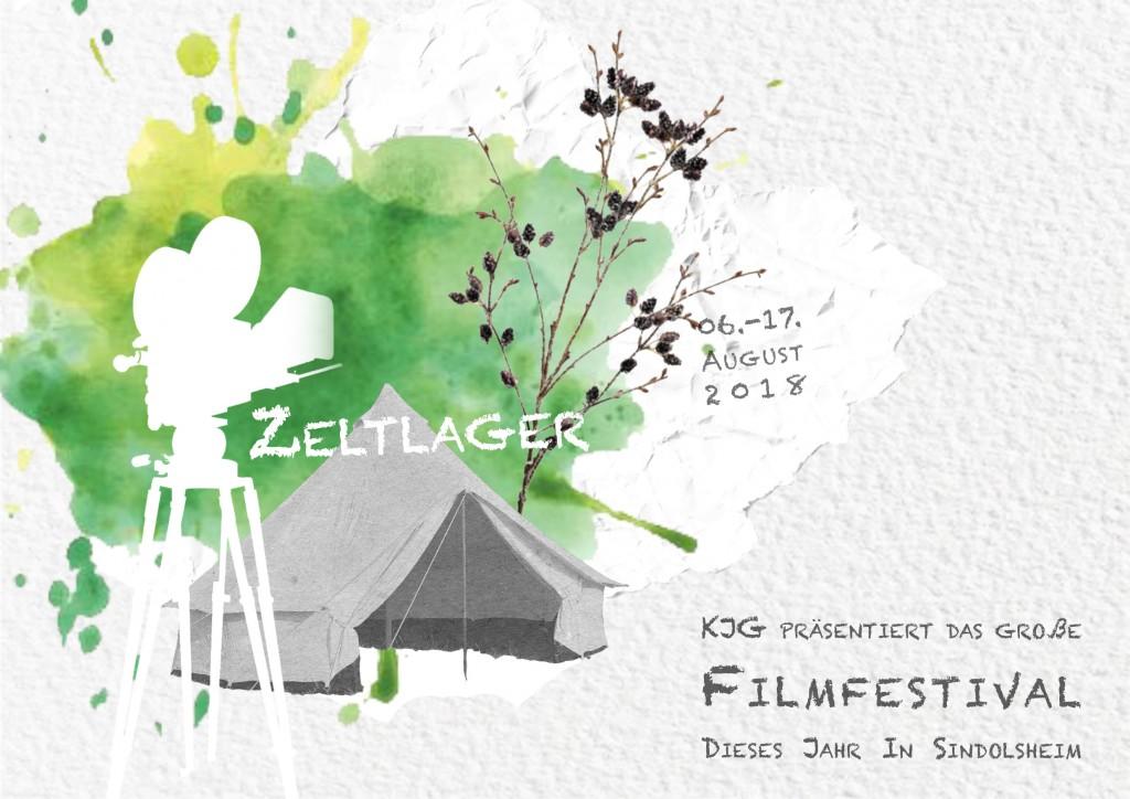 2018 KjG Zeltlager Flyer